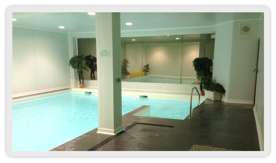 Rg fitness club de remise en forme for Piscine oullins